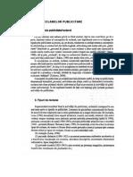 CLASIFICAREA RECLAMELOR PUBLICITARE