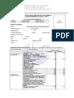 Formulário Inscrição Processo Seletivo 2015-1