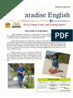 PE Newsletter April 2015