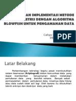 Analisis Dan Implementasi Metode Enkripsi