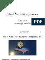 Orbital Mechanics Overview 1