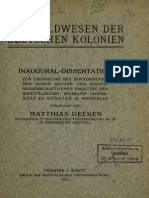 Das Geldwesen der deutschen Kolonien / von Matthias Deeken