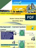 SRM Vendor Cutover Plan