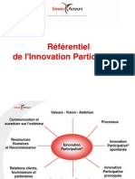 Le Referentiel de l'Innovation Participative