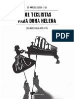 20140525 | Programa de Sala 101 TECLISTAS PARA Dª HELENA | Maratona de Concertos de Instrumentos de Tecla