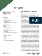 20140527 | Programa de Sala Quinteto Contraste