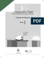 DALE Cuadernillo Alumno Nivel 1