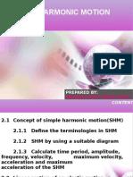 JJ311 MECHANICAL OF MACHINE Ch 2 Simple Harmonic Motion