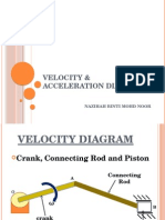 JJ311 MECHANICAL OF MACHINE Ch 3 Velocity and Acceleration Diagram