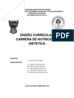 Diseño Curricular Nutric-diet
