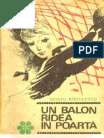 Neagu Radulescu - Un Balon Ridea in Poarta