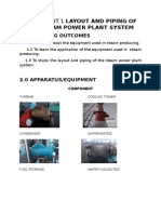 JJ308 REPORT Layout and Piping of the Steam Power Plant System