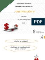2.CONSTRUCCIÓN II  - ENTIBADOS Y TALUDES.pdf