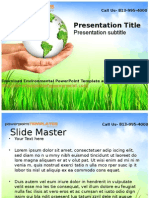 Download Environmental PowerPoint Template