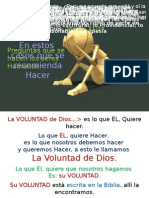 Voluntad de DiosPPP VER