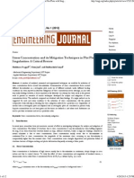 Stress Concentration and Its Mitigation Techniques in Flat Plate With Singularities - A Critical Review _ Nagpal _ Engineering Journal