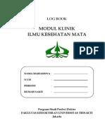 Cover Log Book Mata