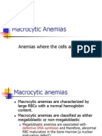 Macrocytic Anemias