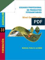 Manual Manipulador de Productos Fitosanitarios. Nivel Cualificado. Manual Para El Alumno.pdf