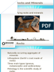 PowerPoint - Rocks and Minerals
