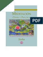 Meditacion, Teoria y Practica - Sesha - Junio 2014 (1)