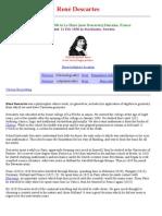 Descartes e Tangentes - Parte i