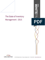 Orchestro State Inventory Management 2015