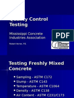 Additional Informaiton About Concrete Testing.ppt