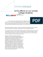 imitation and its role in society - college joseph perez (3) 2