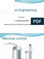 Introductry Lecture for Control System for Mechanical Engieer