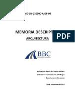 Md Cn 230000 Df 00 Memoria Descriptiva