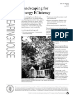 Landscaping for Energy Efficiency