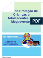 Fluxograma de Proteção de Crianças e Adolescentes Nos Megaeventos