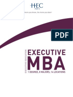 HEC Paris Executive MBA 2014