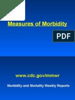 Morbidity - Epidemiology
