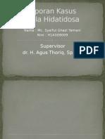Lapsus Mola Hidatidosa h1a 009 009