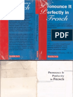 Pronounce It Perfectly in French