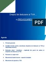 8. Prezentare Dreptul de Deducere Al TVA