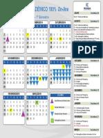 Calendário Escolar 2014 Kroston
