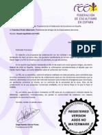 Carta Fee a Amigos de Los Exp Lorca