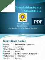 CASE Ameloblastoma