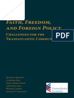 Faith, Freedom, and Foreign Policy