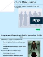 R and R Conflict Lecture 1 - Conflict Types