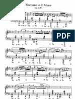 Nocturne in C Minor, Op. 48 #1