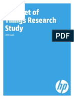 IOT Research Study by HP