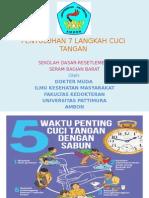 Penyuluhan 7 Langkah Cuci Tangan