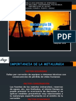 Exposicion Ing Petroleo en la Industria Metalurgica