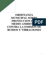 Ordenanza de Ruidos y Vibraciones1277216675