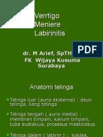 Vertigo, Meniere, & Labirinitis.ppt
