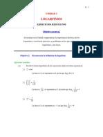 Problemas de Logaritmos